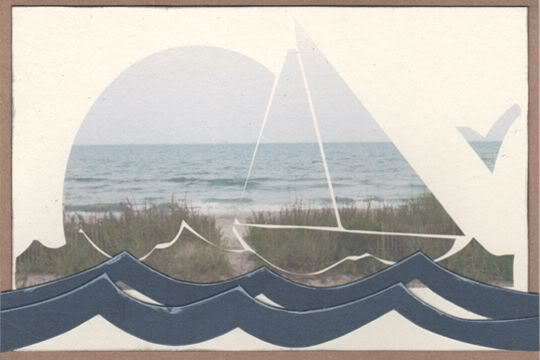 Beach Thank You Card