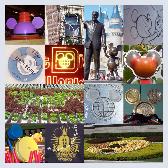 Hidden Mickeys Digital Scrapbook Layout