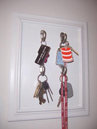 DIY Key Rack Complete