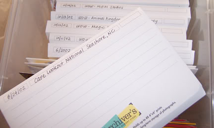 Photo Organization: Print Storage