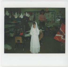 Halloween 1985: bride costume