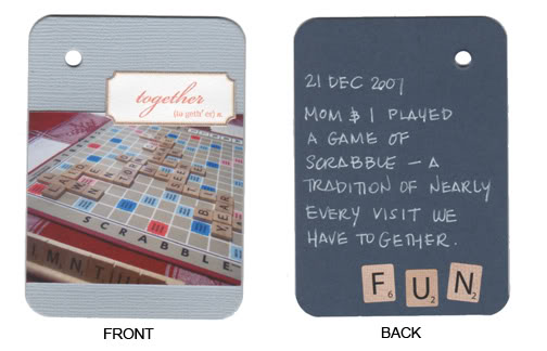 21 Dec 2007: Scrabble