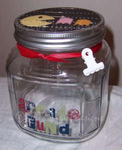 Arcade Fund Altered Jar: Front