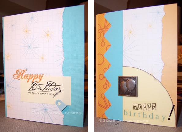 Birthday Cards: January 2008