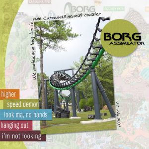 Digital Template Tutorial: Carowinds Digital Scrapbook Page