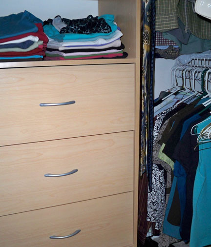 Master Bedroom Closet After