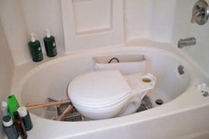 Master Bathroom Toilet Repair: Day 1