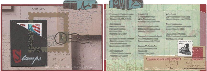 Disney Trip 2008: Stamps & Addresses for Postcards