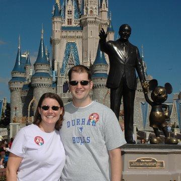 Together at Walt Disney World 2008