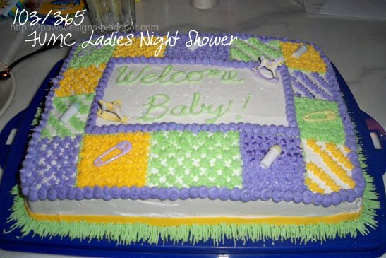 103/365 2009: Baby Shower Cake