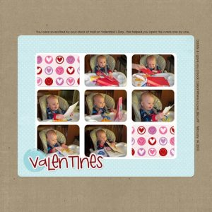 Valentine's Day 2010 layout