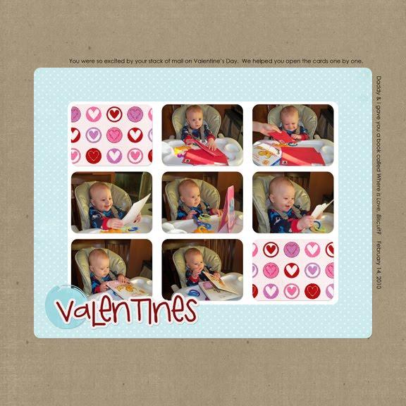 Valentine's Day 2010 layout