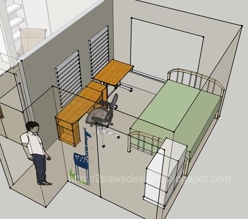 Room remix 2paws designs for 12x12 bedroom interior design