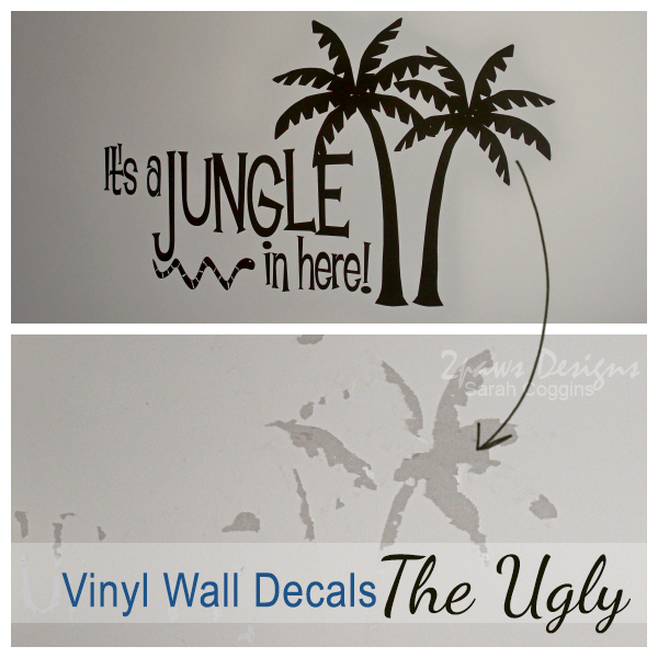 Vinyl Wall Decals - The Ugly