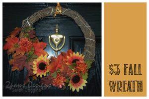 Three Dollar Fall Wreath
