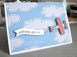 Hybrid Airplane Birthday Card