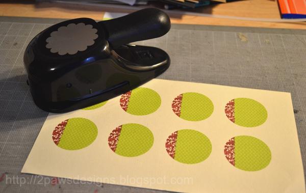 Hybrid Gift Tags: Printed Sheet