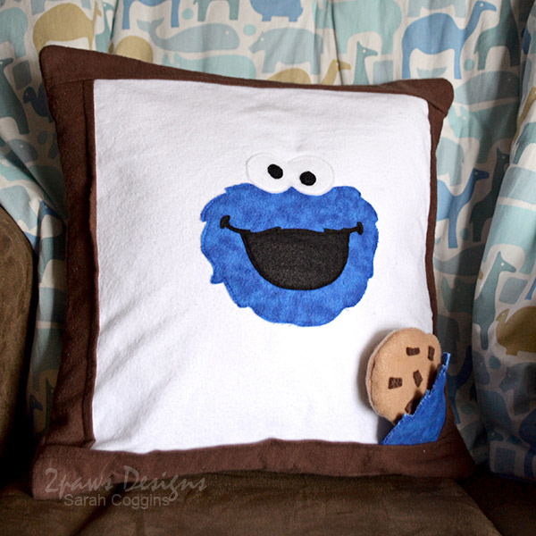 DIY Cookie Monster Pillow