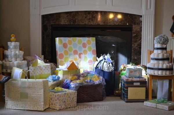 Tea & Trucks Shower: Gifts