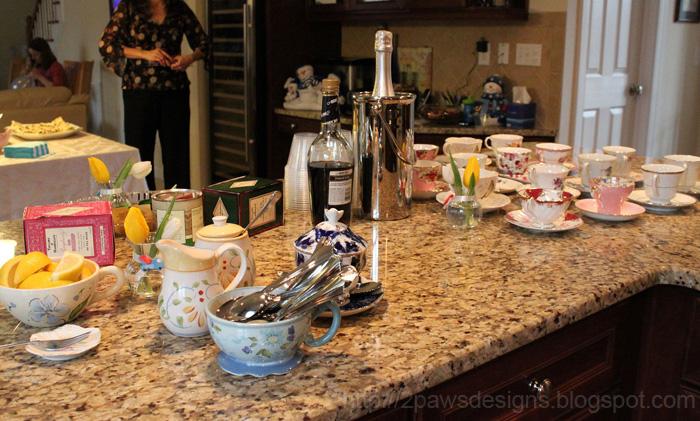 Tea & Trucks Shower: Tea Cups