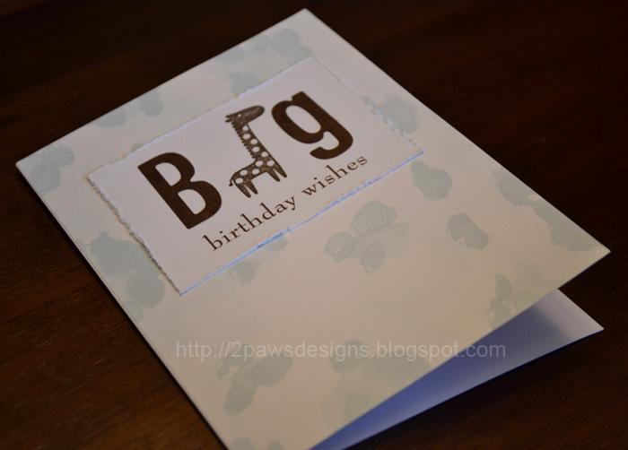 Big Birthday Wishes Card