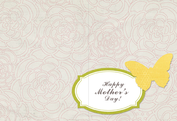 Mother's Day 2011 hybrid card