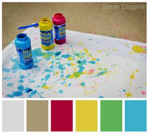 Week 32: Bright & Colorful edit w/ color bar