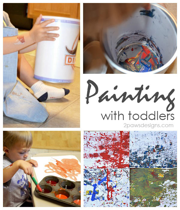 Painting Fun with Toddlers