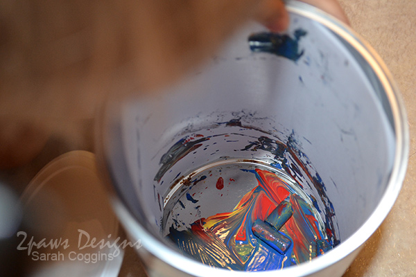 Shake and Paint: peek