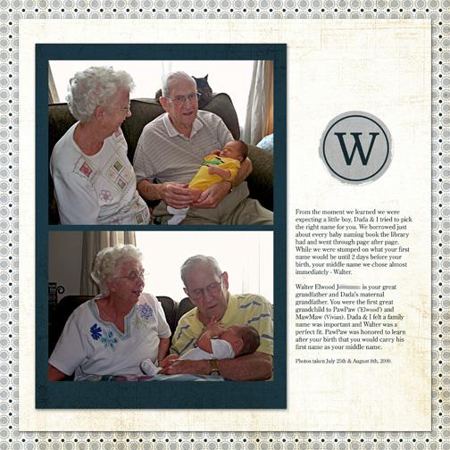 """""""W"""" - Aug 2009"""