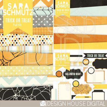 Sara Schmutz: Trick Or Treat kit