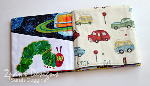 Fabric I Spy Book: Pages 7-8