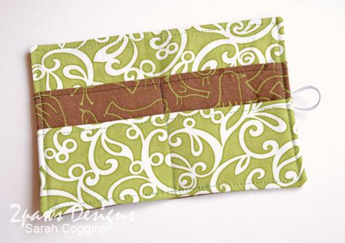 Birdie Tea Wallet: Interior