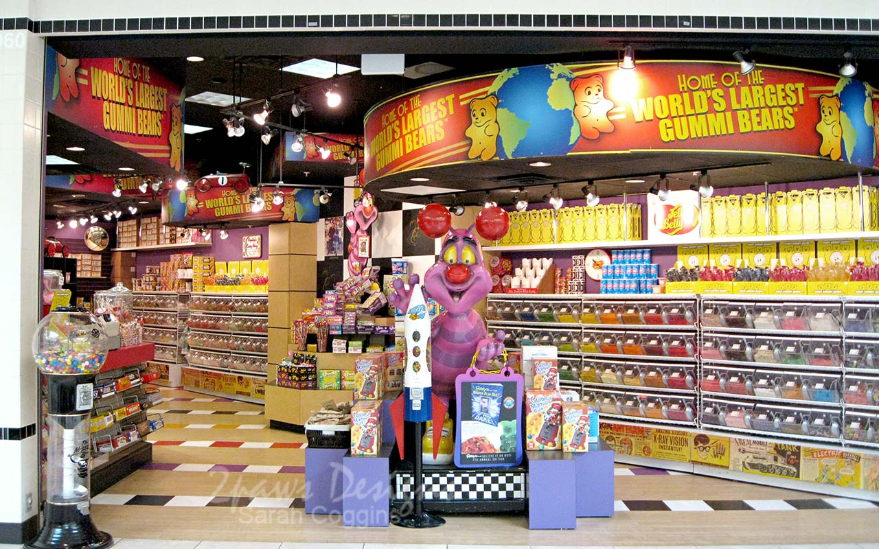Candy Store at Crabtree Valley Mall, Raleigh, NC