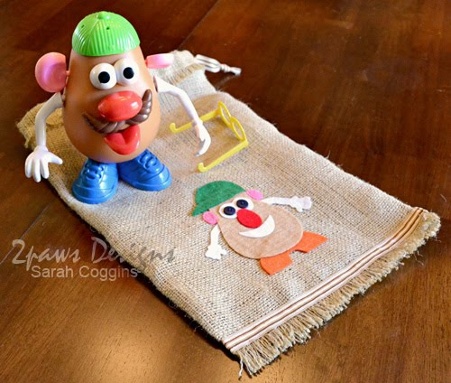 "Mr. Potato Head ""Potato Sack"" Parts Bag"