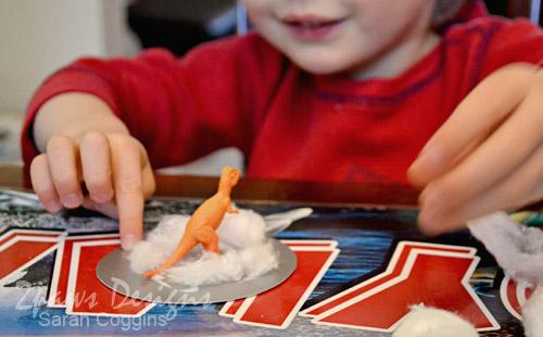 Dino Snow Globe craft
