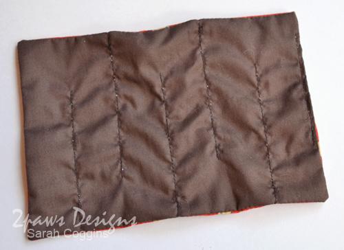 Fabric Marble Maze: back fabric