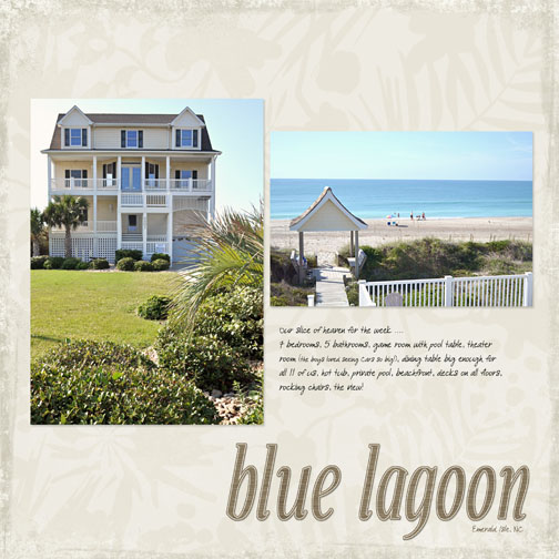 Blue Lagoon Beach House 2011