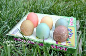 Easter Egg Dying: Drying