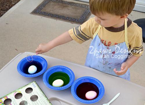Easter Egg Dying: Start