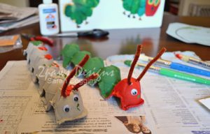 Hungry Caterpillar Craft: Complete