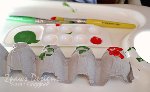 Hungry Caterpillar Craft: Painting
