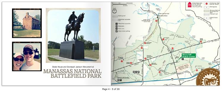 36 Hours photo book: Manassas National Battlefield Park