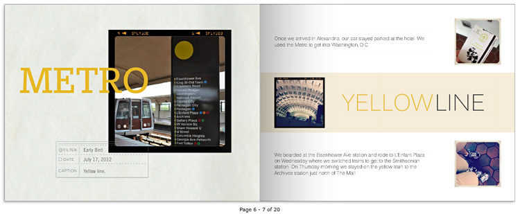 36 Hours photo book: Metro Yellow Line