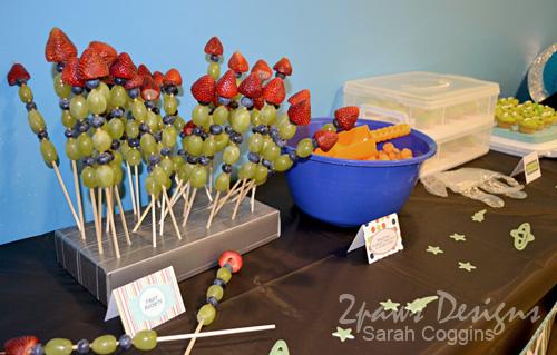 Blast Off Party: Fruit Rockets