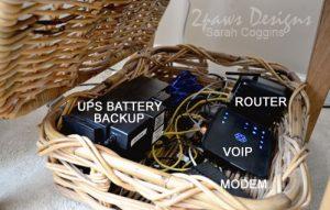 Hidden Router: Inside Basket