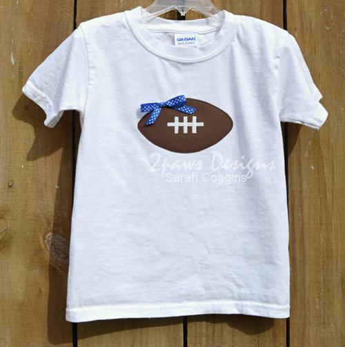 DIY Football T-Shirt