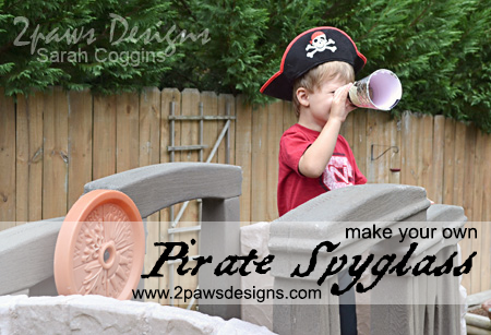 Pirate Spyglass tutorial