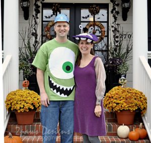 Halloween 2012: Monsters, Inc Mike & Boo