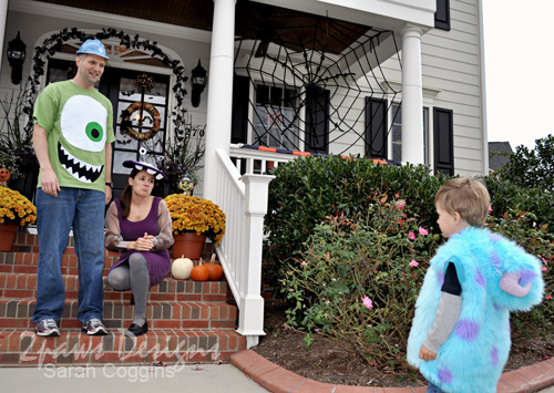 Halloween 2012: Monsters, Inc